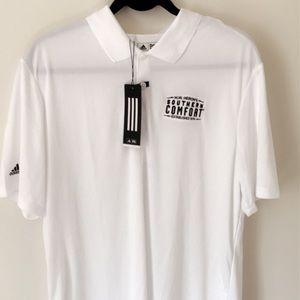 Adidas Polo Shirt - White